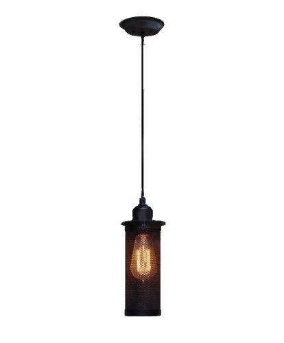 Small Black Pendant Light - 6