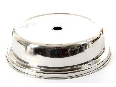 Stainless Steel 10.5'' Inner Dia Plate Cover, Case of 54