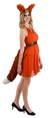 elope Deluxe Oversized Fox Tail (Fox Tail And Ears)