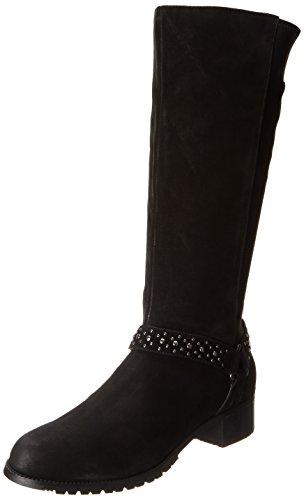 Adrienne Vittadini Chaussures Femme Harnais Botte Noire