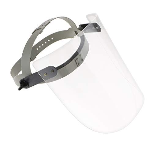 P Prettyia 플 렉 시 글라스 용접 면 작업 페이스 쉴드 스 패터 방지 방호 마스크 투명 / P Prettyia Plexiglass Welding Surface Work Face Shield Sputtering Protection Mask Transparent