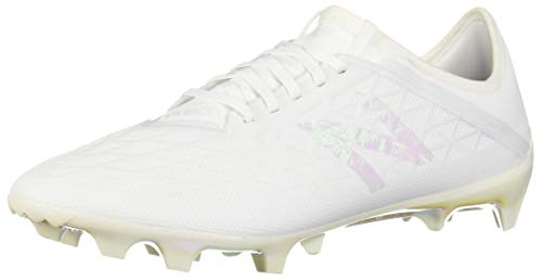 (New Balance Men's Furon V5 Soccer Shoe, white/white/white, 7 2E US)