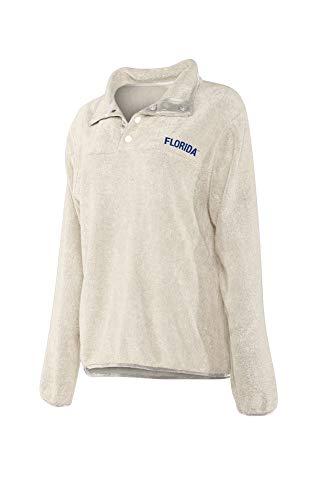 Elite Fan Shop Florida Gators Women's Snap Pullover Sweatshirt - S - - Florida Gators Snap