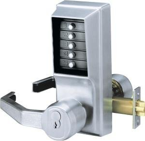 Kaba Simplex L1021 Lever Mechanical Pushbutton Lock Key Bypass