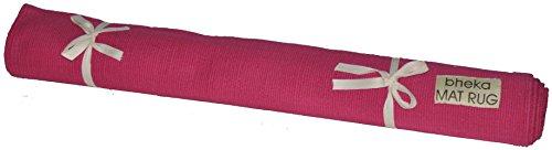 Bheka Cotton Yoga Mat Rug