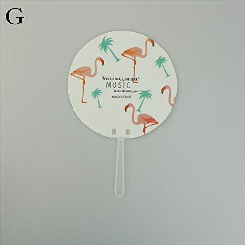 Party Favors - Foldable Fan Round Cloth Summer Outdoor Travel Cooling Fans Portable Mini Handmade Art Cartoon - Bottle Wheels Truck Dora Dollars Toys Kits Surprise Backpack Inspirational Hats ()