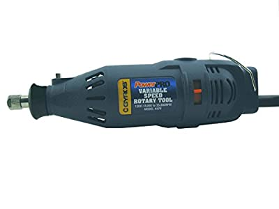 Gyros 40-00470 PowerPro Multi-Use Rotary Tool/ Professional, Cutting Tool with Variable Speed Mode; 1.2A High Speed Power and 120-Volt Electric Powered (Tool Only)