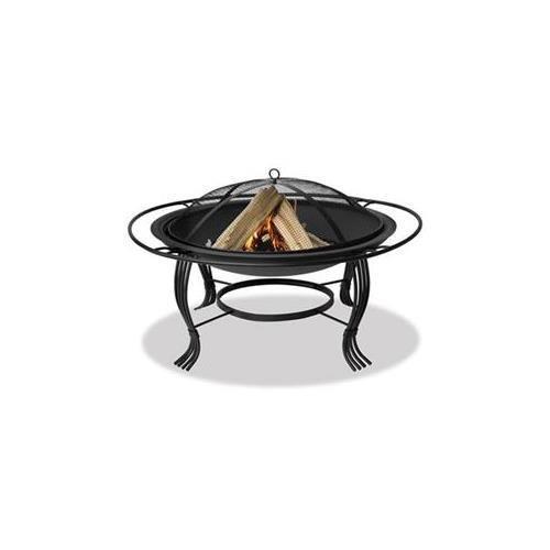 Blue Rhino WAD1050SP Wood Fireplace - UniFlame - Portable - Outdoor Usage (Black) by Blue Rhino