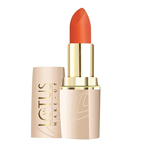 Glamorous Mart - Lotus Makeup Pure Color Moisturising Lip Color, Tangerine 694, 4.2g