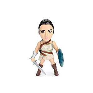 "31IW7k3 jML. SS300 Entertainment Earth Wonder Woman Movie Amazonian Warrior 4"" Metals Figure"
