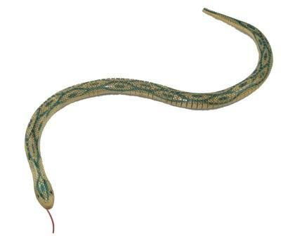 Wood Snake - One Wooden Wiggle Snake - 28 inch