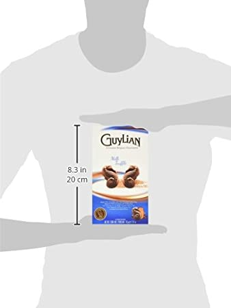 Amazon.com : Guylian Belgium Chocolates Milk Chocolate Seahorse Truffle, Milk Chocoalte Filling, 2.47 Ounce : Grocery & Gourmet Food