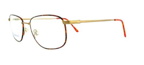 Flexon Autoflex 54 Eyeglasses 215 Tortoise/Bronze Demo 53...