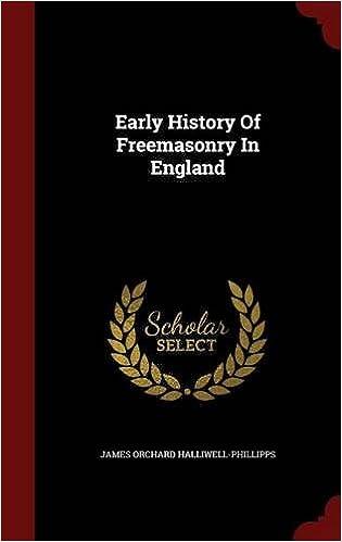 Early History Of Freemasonry In England