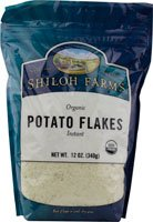 Shiloh Farms Organic Potato Flakes Instant -- 12 oz