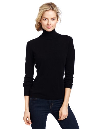 Sofie Women's 100% Cashmere Classic Turtleneck Pullover ...