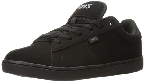 DVS Shoes Revival 2, Scarpe da Skateboard Uomo Nero (Black Black Nubuck 004)