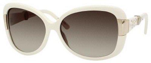 Dior SBR Ivory Midnight Square Sunglasses Lens Category - Dior Sunglasses White Frame