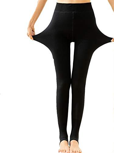 Di Elastici Nero nbsp;leggings In 1 Caldo Spessore Lidoudou Invernale Più Velluto Pant Collant Codice Donna xSqXw5H