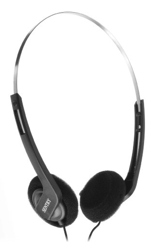 Sentry HO415 Lightweight Digital Stereo Headphones Lightweight Digital Stereo Headphones