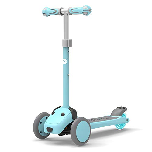 Mountalk 3 Wheel Scooters for Kids, Kick Scooter for Toddlers 2-8 Years Old, Boys and Girls Scooter with Light Up Wheels, Mini Scooter for Children, for Ride On Toys,Blue