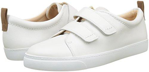 Lea white Ginnastica Combi Donna Da Basse Clarks Bianco Daisy Glove Scarpe gpqnH6v