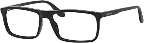 Carrera 6643 Eyeglass Frames CA6643-064H-5616 - Black / Matte Black Frame, Lens Diameter 56mm, (Carrera Marke)