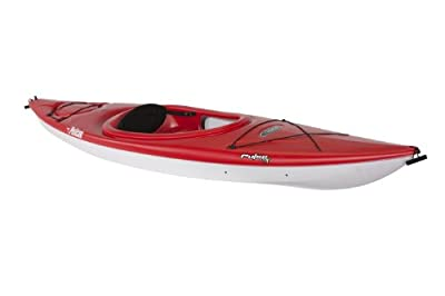 KMA10P702-00 Pelican Pulse 100X Kayak, Red/White by Pelican