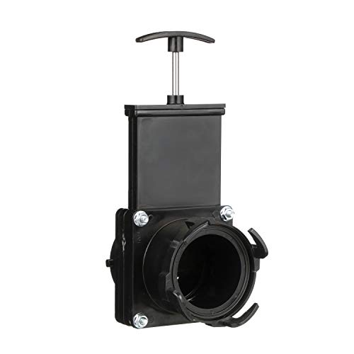 (Valterra Black T58 Twist-On Waste Valve)