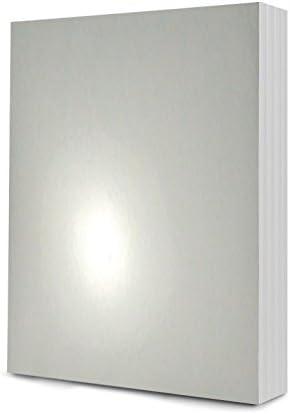 Stunning Silver 144 x A6 Sheets Hunkydory Mirri-Mats