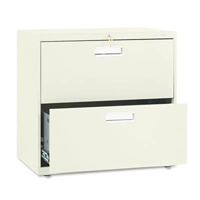 HON 672LL – 600 Series Two-Drawer Lateral File, 30w x19-1/4d, Putty