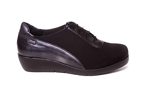 À Pour De Cutillas Noir Lacets Femme Ville Chaussures Doctor xpY7gng
