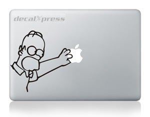 Cartoon Omero Decal Sticker For Macbook  Air  Pro All Models