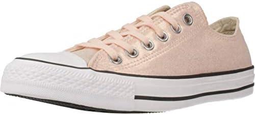 Top Sneakers, Beige (Washed Coral/Black