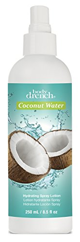 Body Drench Coconut Water Hydrating Spray Lotion 8.5 Ounce (251ml) (3 Pack)
