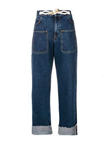 J.W. ANDERSON Femme TR00418D134870 Bleu Coton Jeans
