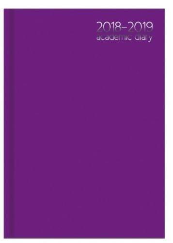 Agenda académica 3887, A4, vista semanal, año académico 2017 ...