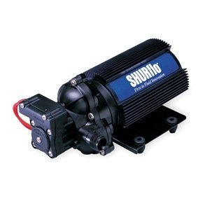 Shurflo 2088-313-145 Diaphragm Pump with Fin Cooled Motor (12VDC)