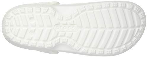 Classic Erwachsene Clogs Unisex Lined Grau Weiß crocs 06wq7Aw