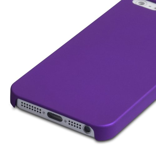 iPhone 5 / 5S Tasche Lila Harte Hybride Hülle