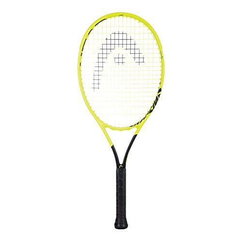 Head Graphene 360 Extreme Lite (4 1/2 Inch Grip) Tennis Racquet Strung with Silver String