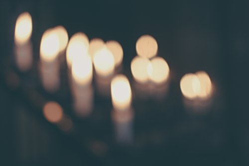 Blurry Candles
