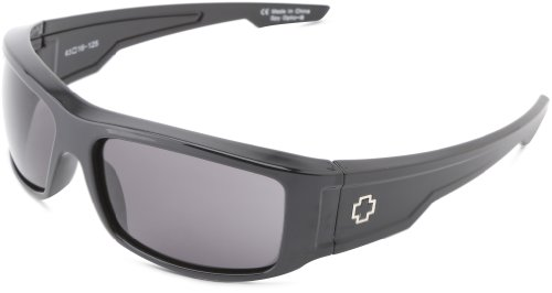 Spy Optic Colt Wrap Sunglasses,Black,61 - Spy Amazon Sunglasses