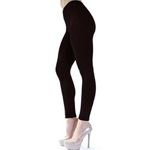 Angelina Seamless Fleece Tights Leggings