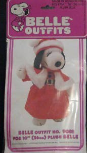 (Peanuts Snoopy Belle Outfit for 10