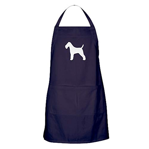 CafePress Wire Fox Terrier Kitchen Apron with Pockets, Grilling Apron, Baking Apron