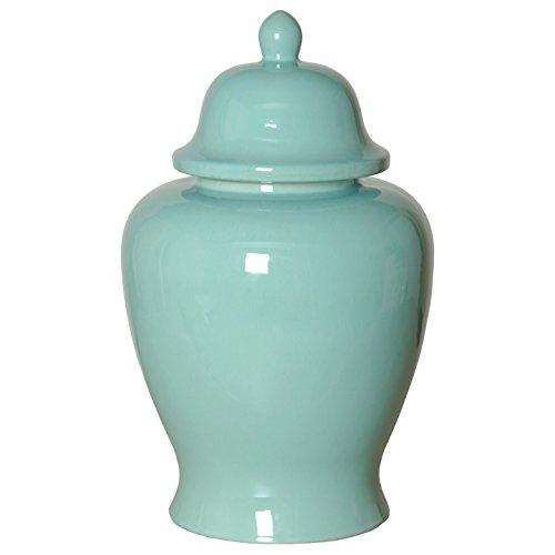 Emissary Home & Garden Ginger JAR Vintage Teal, 20