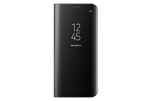 Samsung Galaxy S8 S-View Flip Cover with Kickstand, Black