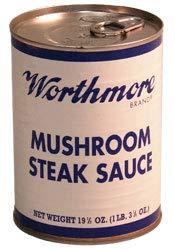 - Worthmore Mushroom Steak Sauce, 19.5-ounce (Pack of 6)