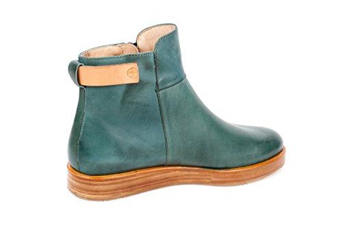Neosens - Botas de Piel Lisa para mujer verde verde 37